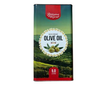 """Масло оливковое """"Здоровые вкусы"""" 1 л"""